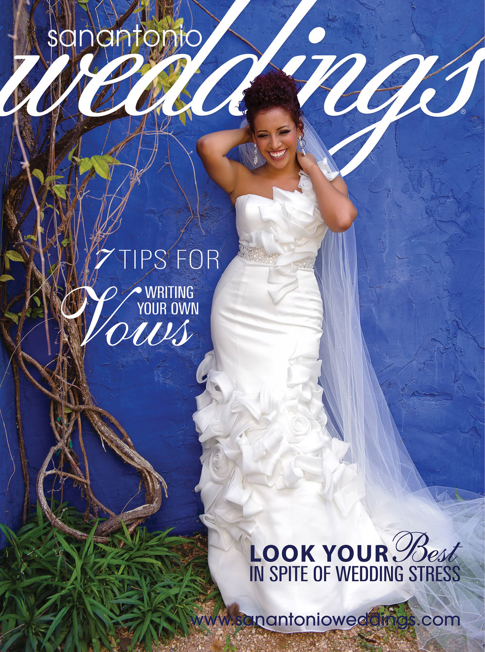 San Antonio Weddings Magazine Cover  (2013, Vilma Rodriguez-Dyer)