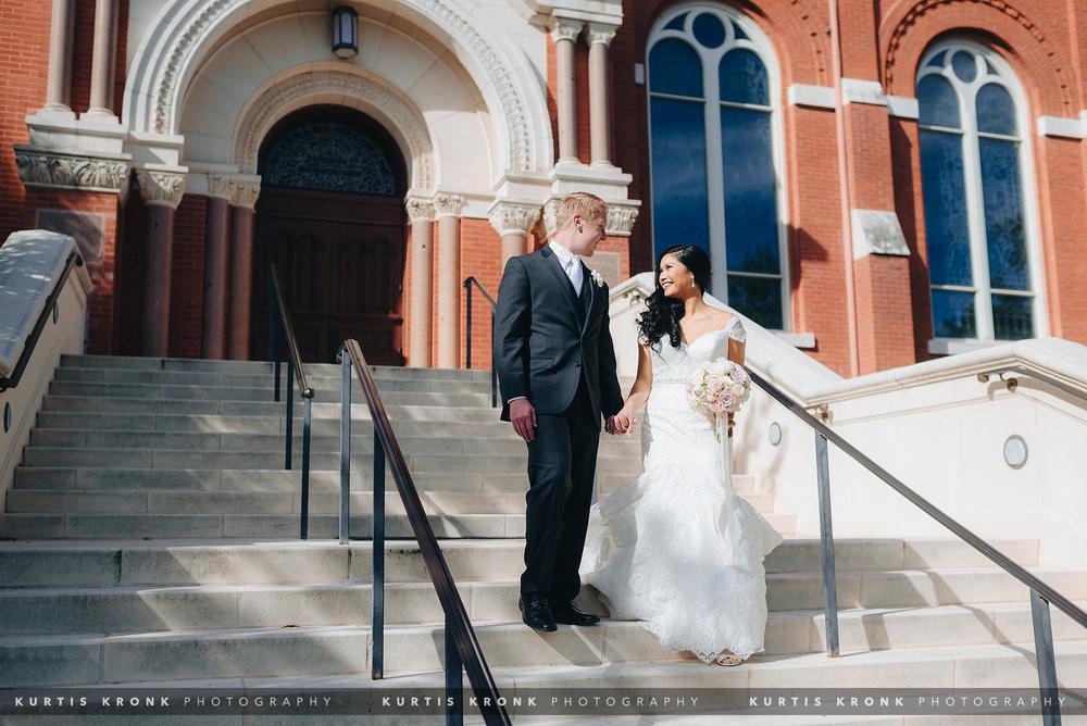 UIW Chapel Wedding, Kimberly & David