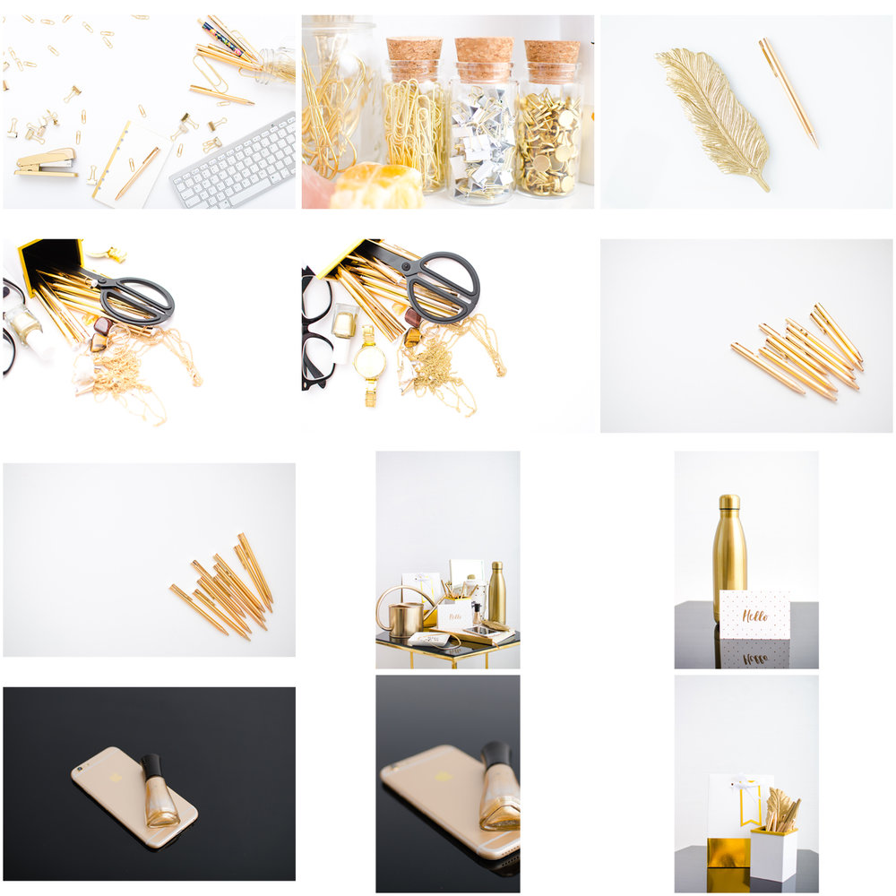 THE GOLD STOCK PHOTO PACK