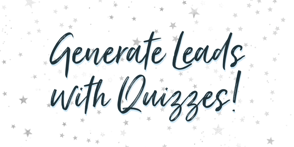 generate leads with quizzes