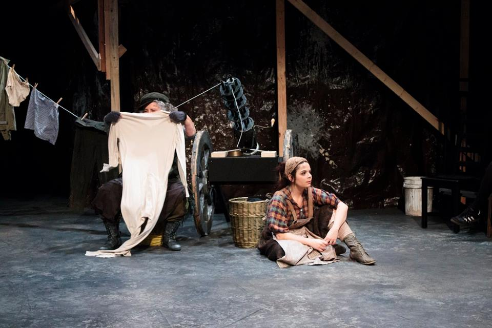 Kattrin in  Mother Courage and Her Children