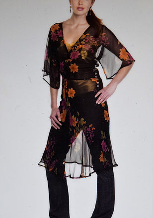 Kimono Sleeve Dress 2007