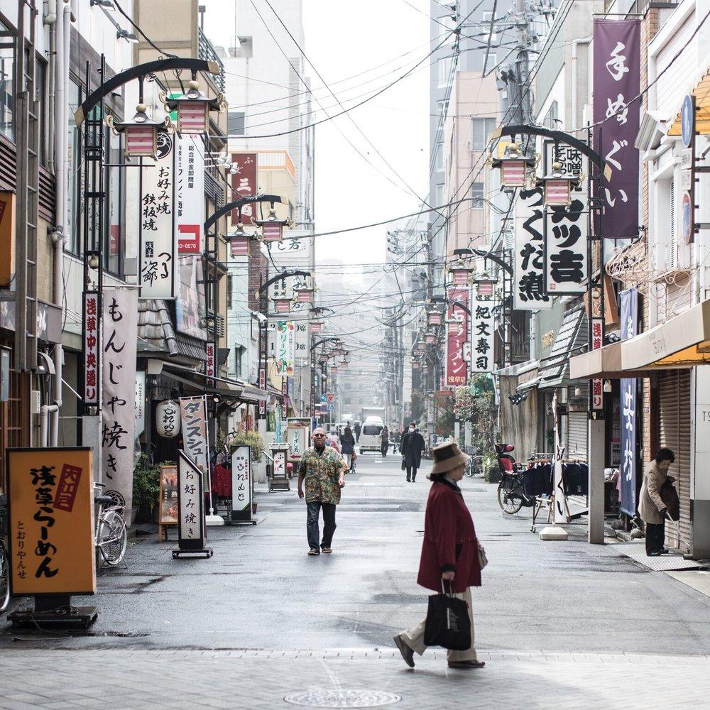 Tokyo Bevie Map -