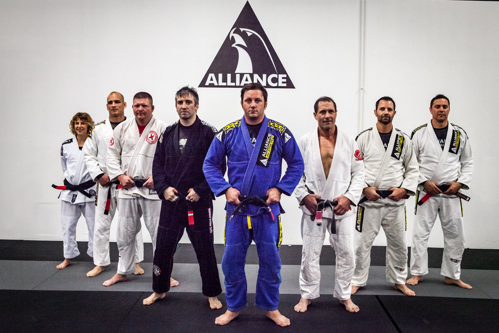 SAY HELLO TO YOUR - JIU-JITSU COACHES