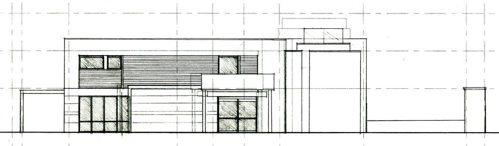 Main Entry Design Sketch