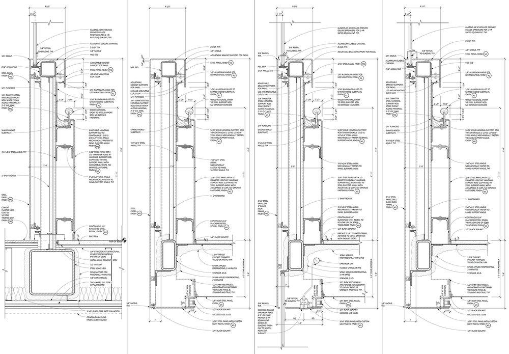 Railing-Wall Details