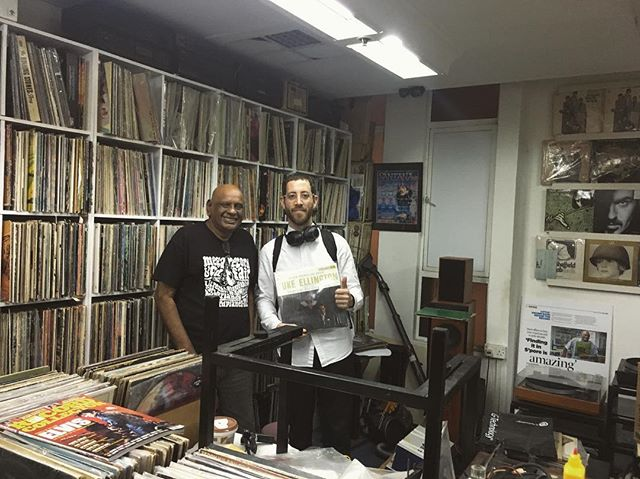 Man like Alagiry hooked me up tonight. Went to this shopping mall to buy some glasses from Uncle Tony, but he told me about this record shop on the top floor. Been keeping an eye for this record since I first heard it earlier this year... Mahalia Jackson and Duke Ellington - Black, Brown and Beige