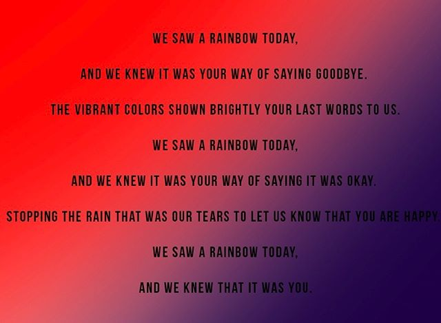 """We Saw a Rainbow"" - Issue 11 - Makenna Kovacs - #5 on our year in review."