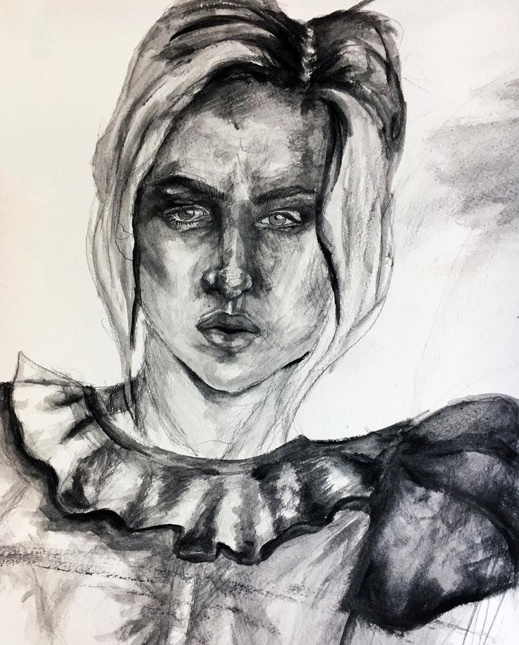"""""""Self-portrait"""" - Dani Weintraub"""