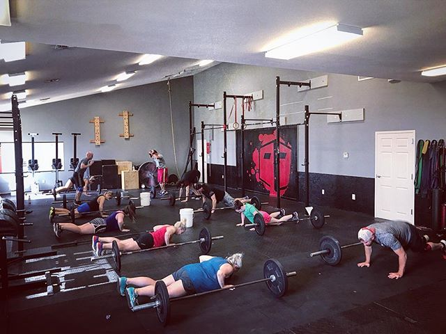 I-40 CrossFit is bigger than just a workout, it's family. A faith based group that strives every day to improve upon themselves physically, emotionally, and spiritually. The push each member gives daily is wonderful to watch, making each class worth while. Contemplating if this is the place for you? Enjoy your first week, FREE!.. #i40crossfit #crossfit #rogue #roguefitness #axom #axomperformance #locallyowned #locallyownedandoperated #free