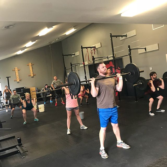 Our family is growing daily! Keep an eye out for a new member special dropping today!  #i40crossfit #crossfit #roguefitness #rogue #axom #axomperformance #bogo #deals #burpees #cfit