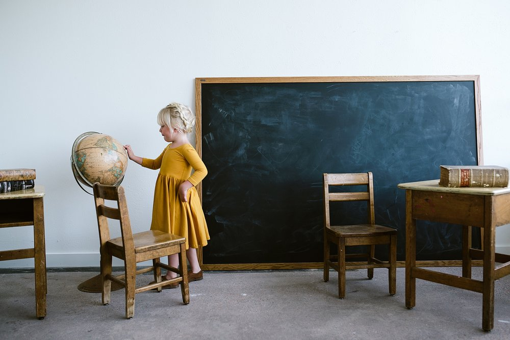 Back to School With Alice and Ames | Denver Photo Collective