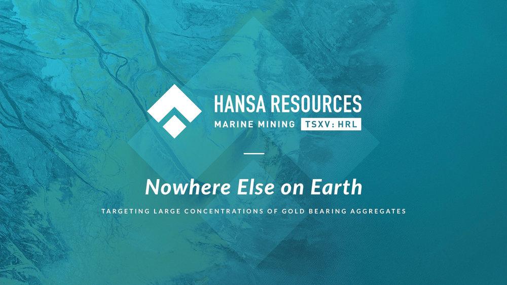 Hansa Resources Limited Investor Presentation pdf