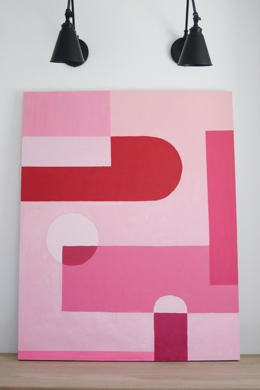 pinkabstractart