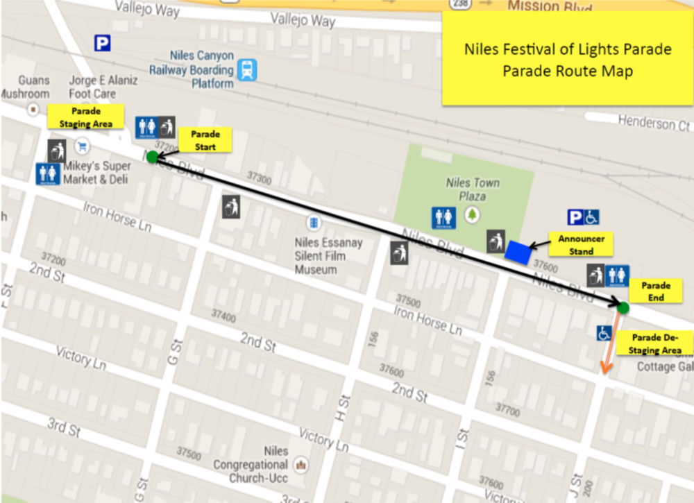 Niles Parade Route.png