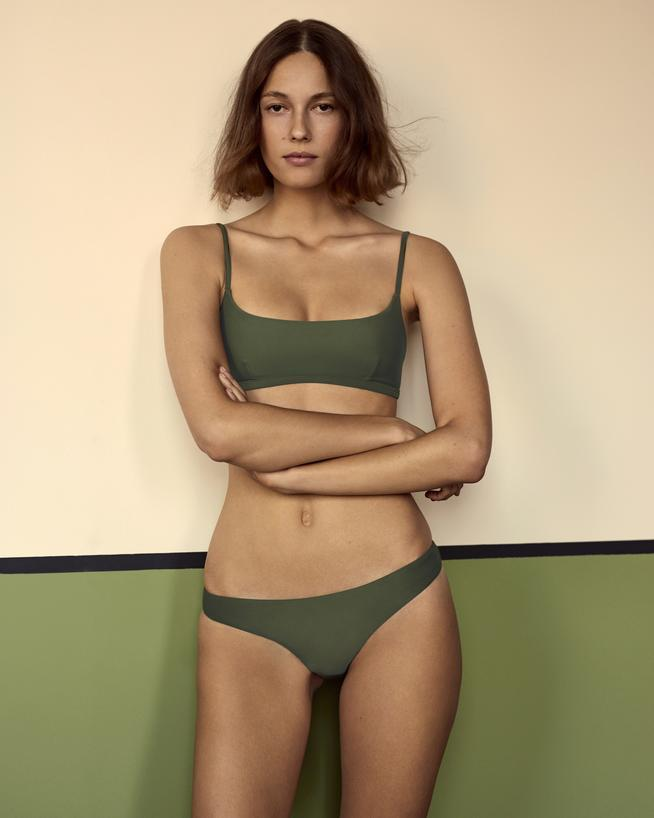 The Crop Top in Jungle, The Classic Brief in Jungle