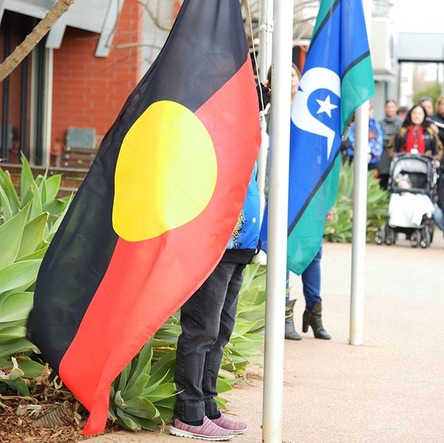 Today at the NAIDOC flag raising we were lucky to see and hear from strong women and to enjoy hearing their efforts, courage and wisdom acknowledged.  If you missed out there is a short video on our Facebook page. Don't forget to head over to the MDAS NAIDOC week event page to see all of the other events on this week.