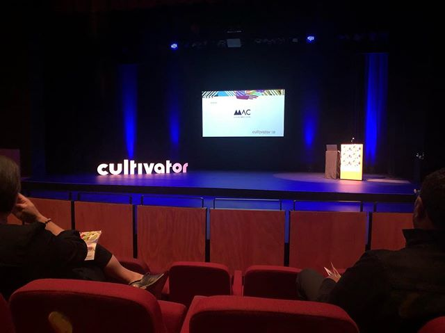 Some of the HUM team are lucky enough to be at @cultivator_inc today. Looking forward to hearing from this year's line up.