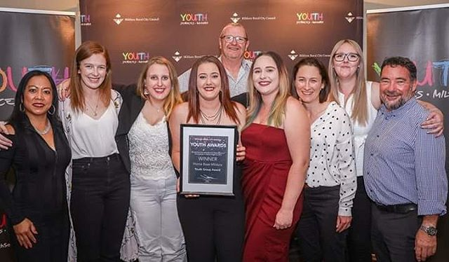 We're so pleased to be able to congratulate the Home Base team for their Youth Awards win last night. We couldn't be prouder of this dedicated youth led team!