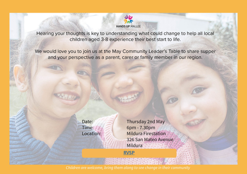 May CLT invitation to community - Invitation to community to help the CLT