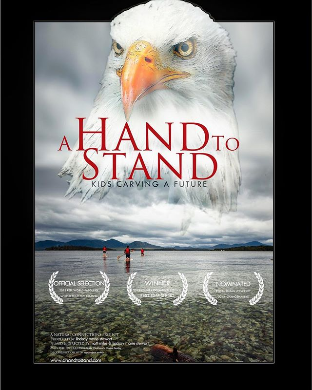 Surprised & pleased to have won the Audience Choice Award for with the wonderful @lindsaymariestewart for our film A Hand to Stand! Commercial release coming soon.... #documentary #bellabella #beautiulbc #explorebc #itswhatido #canoncanada