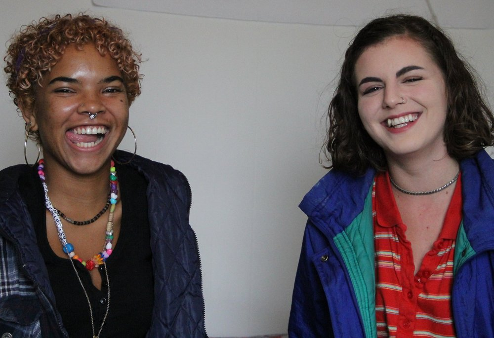 Imani Wilson and Ella Zalon Imani Wilson and Ella Zalon are recent graduates from the Oakland School for the Arts as well as RAPP (Relationship Abuse Prevention Program) Alumni. They both identify as queer and have taken steps to ensure that sex education become the norm in their personal lives.
