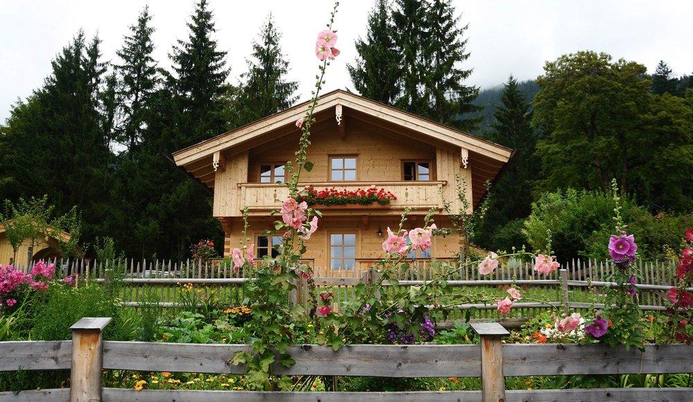 Traditionelles Blockhaus