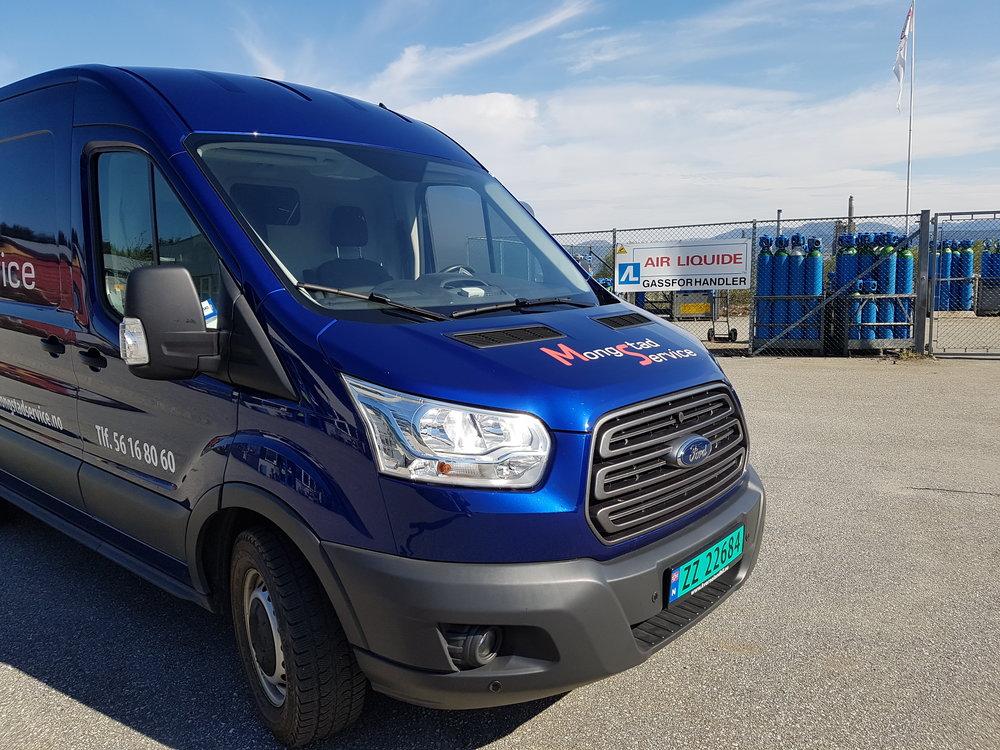 Vi har faste kjøreruter - Mandag til Bergen og Nordhordland.Onsdag til Gulen og Masfjorden.