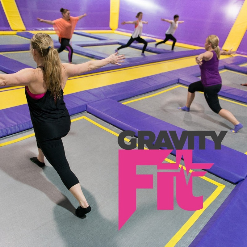 Gravity Fit - We all know it's so much easier to stay healthy when you're really enjoying yourself. This means trying something different to your usual routine. Exercising with other people is a great way to stay motivated. At Gravity Force our range of fitness opportunities is unlike anything you've seen before. We have an amazing range of both studio group exercise classes and trampoline classes all led the best instructors who'll help you get the most from every session. You can either pay-as-you-go or become a member to take part in our Gravity Fit sessions.Take a look at those parks below and click the links to find out more information about your local Gravity Force.* Sunderland - Click here* Camberley - Click here* St Albans - Click here .