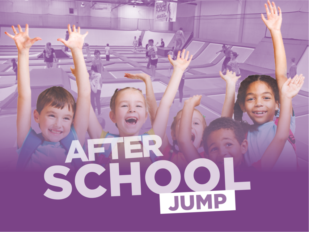 The perfect end to every school day. - After school jump and meal deal.Starting week commencing 8th May we are launching our after school Jump and meal deal.The deal is Available across all parks during the 4pm to 5pm session Monday to Thursday.(excluding Tuesdays in Sunderland).Priced at just £10, the deal includes one hour jump followed by a hot dog and your choice of a slushi or bottled water. The offer is available term time only and all bookings during the session will be entitled to the meal deal.To find out more please contact your local park. Annual Pass holders can attend this session free as per the annual pass terms and conditions but this excludes the meal deal. This can be added on at point of sale for £2.50. To book your after school jump session click below. For full terms click here.