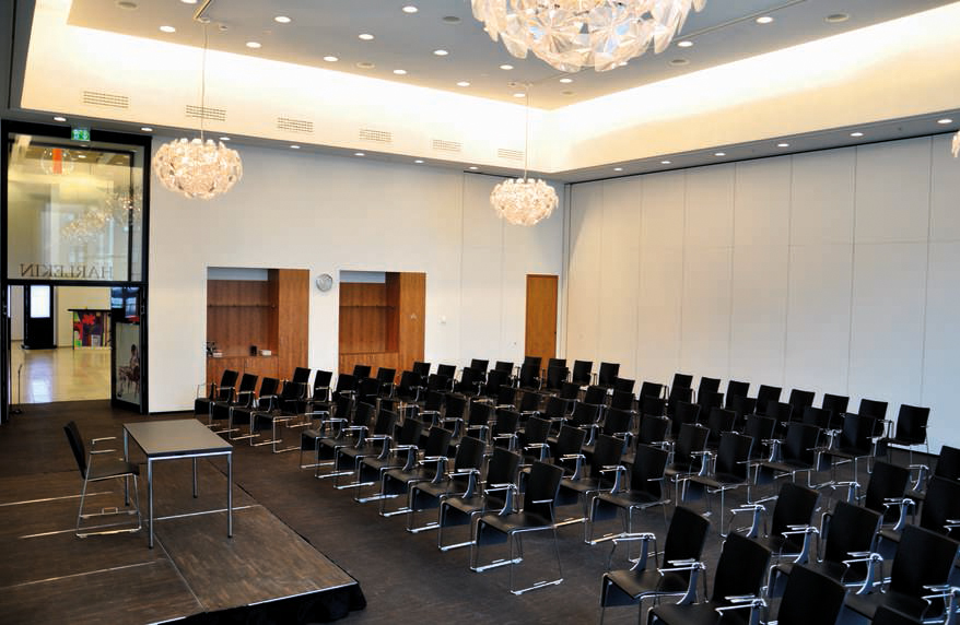 Breakout room used for parallel session presentations  Photo credit:    Tivoli Hotel & Congress Center
