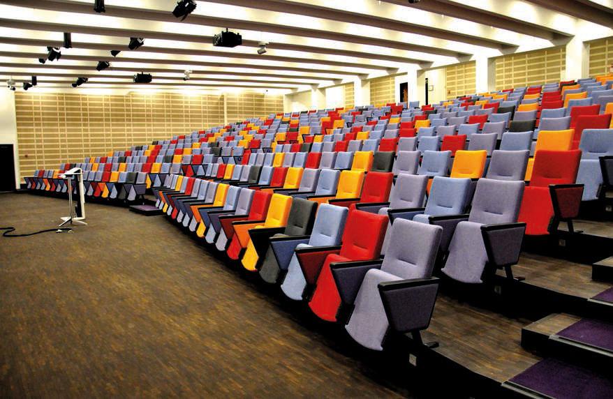 Konferencesal, der benyttes til parallelsessionerne.  Foto:    Tivoli Hotel & Congress Center
