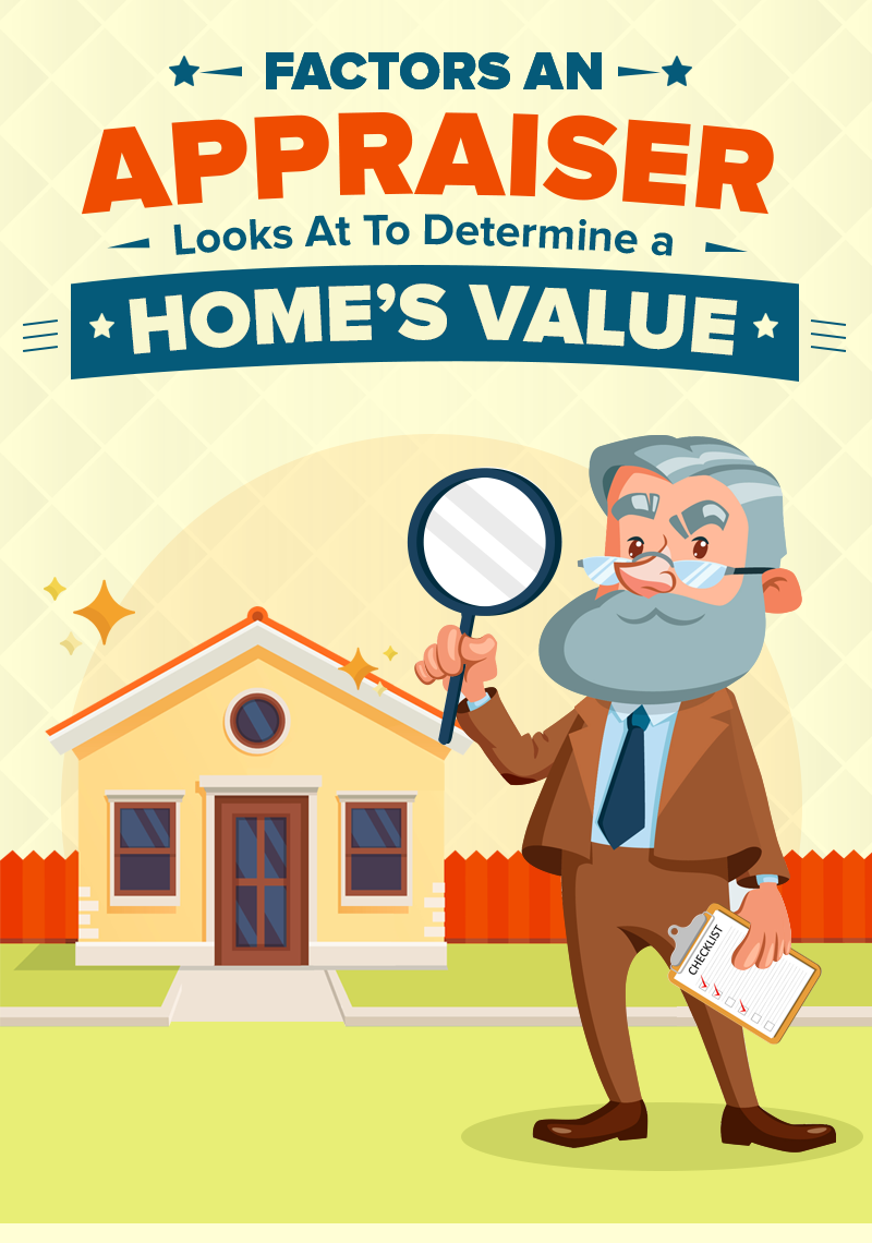 Home Appraisals 101: Factors an Appraiser Looks At To Determine a Home's Value