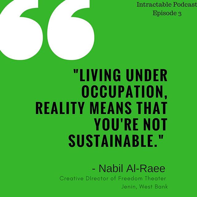Episode 4 goes live tomorrow! Don't forget to go back and catch up on Episodes 2 and 3 of Intractable before then to catch our discussion of what it means to be Israeli and what it means to be Palestinian. Link in bio to listen! #Israeli  #Palestinian #IsraeliPalestinianConflict #Israel #palestine #conflict #politics #culture #theater #art #resistance #nonviolent #podcast #Intractable #intractablepodcast #arabisraeli  #arab  #christian #jewish #muslim #judaism #christianity #conflict #peace #history #rabin #bengurion