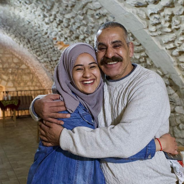 Eid Mubarak to those who are celebrating! Today marks the end of Ramadan, the holy month in Islam during which Muslims around the world abstain from food, water, and sinful behavior from sunrise to sunset.  Pictured here: Shahd (left) and Emad (right) Abu Kadija, a father-daughter pair in the Old City of Jerusalem. . . . #intractable #ramadan #eidalfitr #palestine #israel #jerusalem #oldcity #alquds #holyland #abrahamicfaiths #islam #eidmubarak #family #podcast #politics #conflictresolution #love #ramadan2018 #peaceprocess