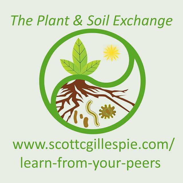 "Do you have a hard time keeping up with the growing season? Get the help of a network. Join The Plant & Soil Exchange online community now using the code ""instagram"" and get an additional month for free! Head to my website using the link in my profile page and click on The Plant & Soil Exchange or copy & paste this link: www.scottcgillespie.com/learn-from-your-peers #growyourownfood #growyourownfoods #onlinecommunity #garden #gardening #soilmatters #healthysoil #happyplants #homegrown #farmlifebestlife"