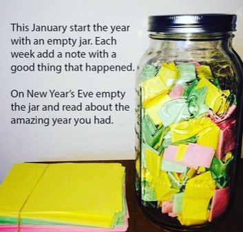 good things happen jar