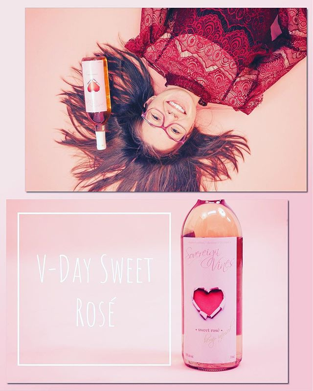 🌸 Limited Edition V-Day Sweet Rosé 🌸  Only available at the Broome County Farmer's Market . . Saturday's 9am-1pm @ 840 Upper Front St., Binghamton . model: @ohdanaschroeder
