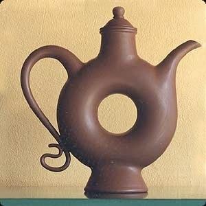 Thrown Moroccan Teapot