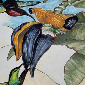 Hummingbird Panel Detail