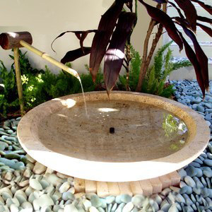 Bamboo Basin Fountain