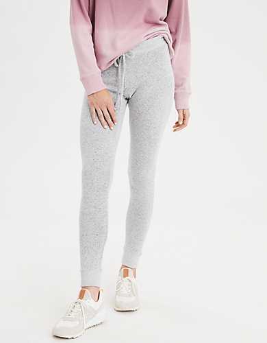 cozy fleece joggers