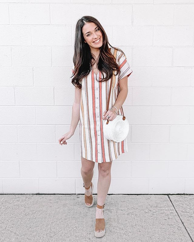 Who else has major SPRING FEVER?! I'm beyond over this cold, icky weather and am so ready for a warmer season. Today #ontheblog I thought it would be fun to share a few items I've been eyeing & have recently purchased for Spring!🤩 Including the cute dress//espadrille wedges pictured here.🌷 #linkinbio . . http://liketk.it/2AiJw #liketkit @liketoknow.it #carlylethorntonfashion #spring #ltkspring #ltkspringstyle #springbreak #ltkstyle #ltkstyletip
