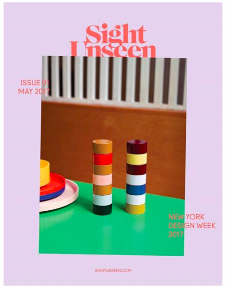 SIGHT UNSEEN PRESENTS MAGAZINE