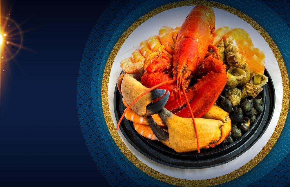 Le Plateau De Fruits De Mer! - Simple, à la royale ou juste pour agrémenter votre menu de Noël !