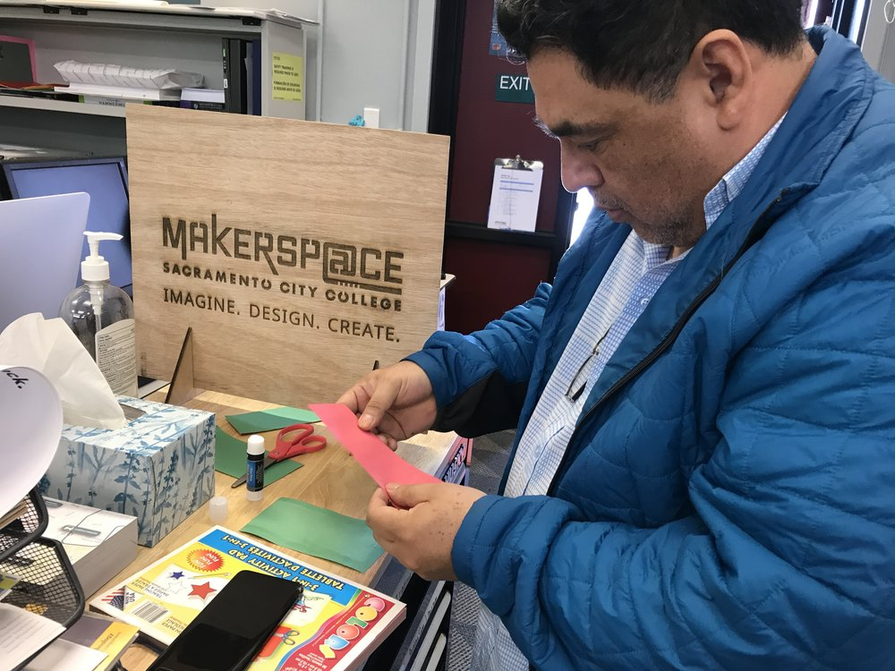 Sac City Makerspace Hosts Design Thinking Faculty Event! - Sacramento City College / Posted Mar 13, 2018By Michelle Zamora