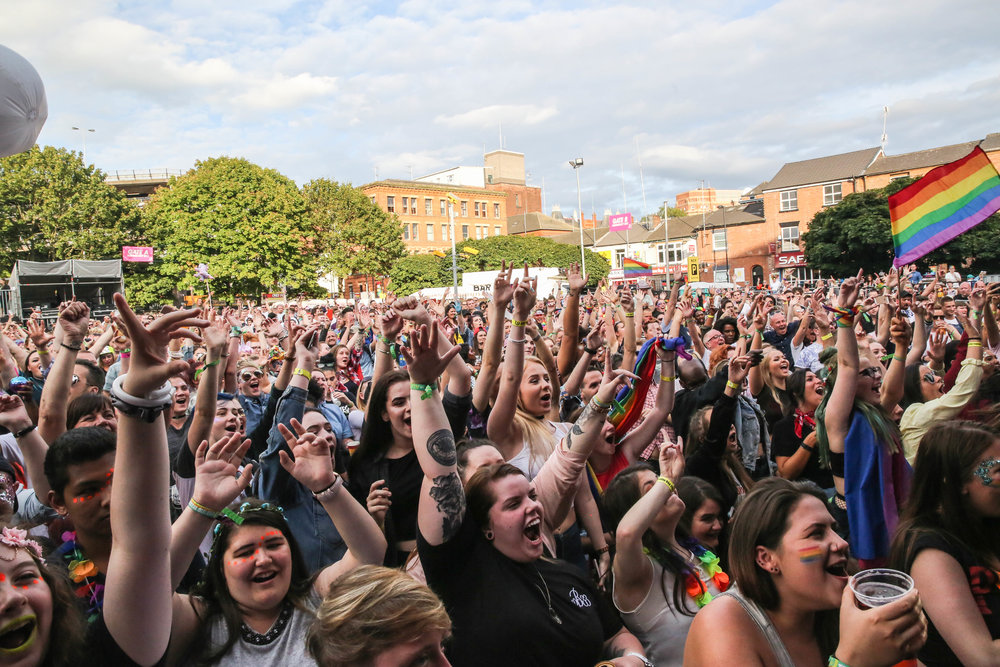 167,000 - gate interactions at The Big Weekend