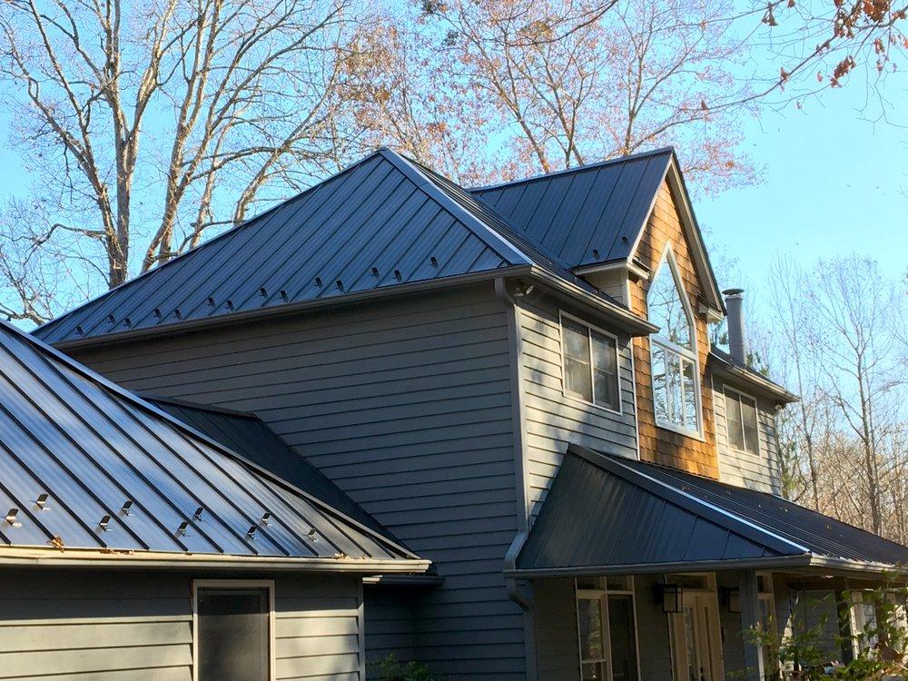 Gray Metal Roof Pittsboro