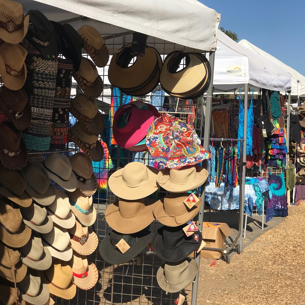 Arts and Crafts Marketplace - Stroll and shop among a variety of artisans that feature unique wares including fine gold and silver jewelry, stained glass, hand-crafted pottery and basketry, hand-woven clothing from natural fiber and musical instruments.Relax with a soothing massage.The
