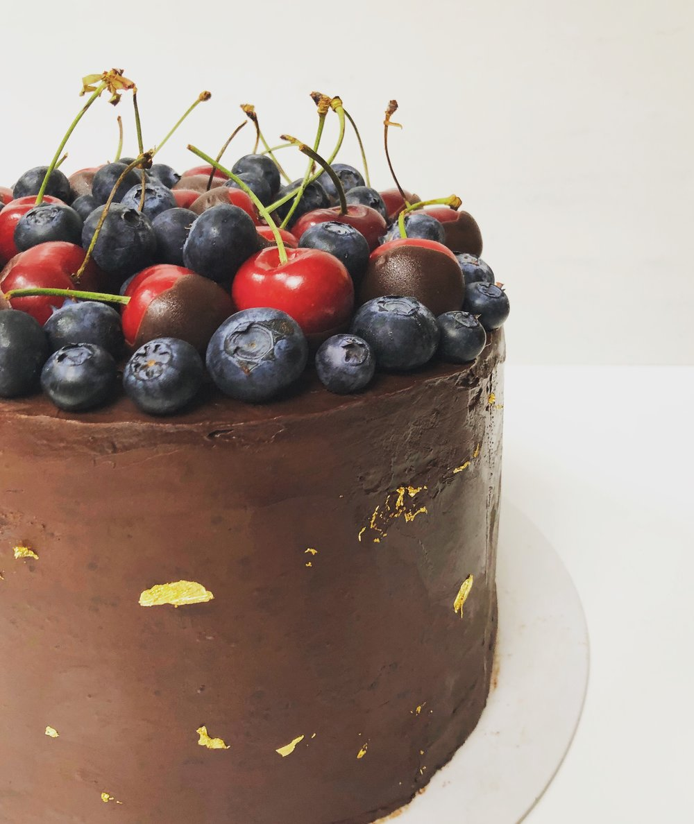 Ultimate Chocolate & Cherry Cake